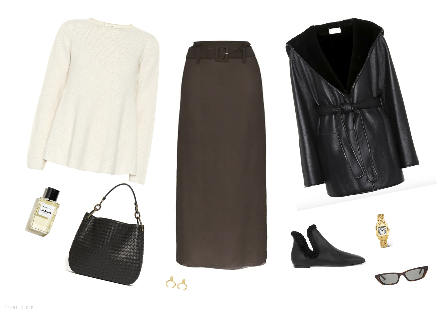 Trini | Prada skirt The Row sweater