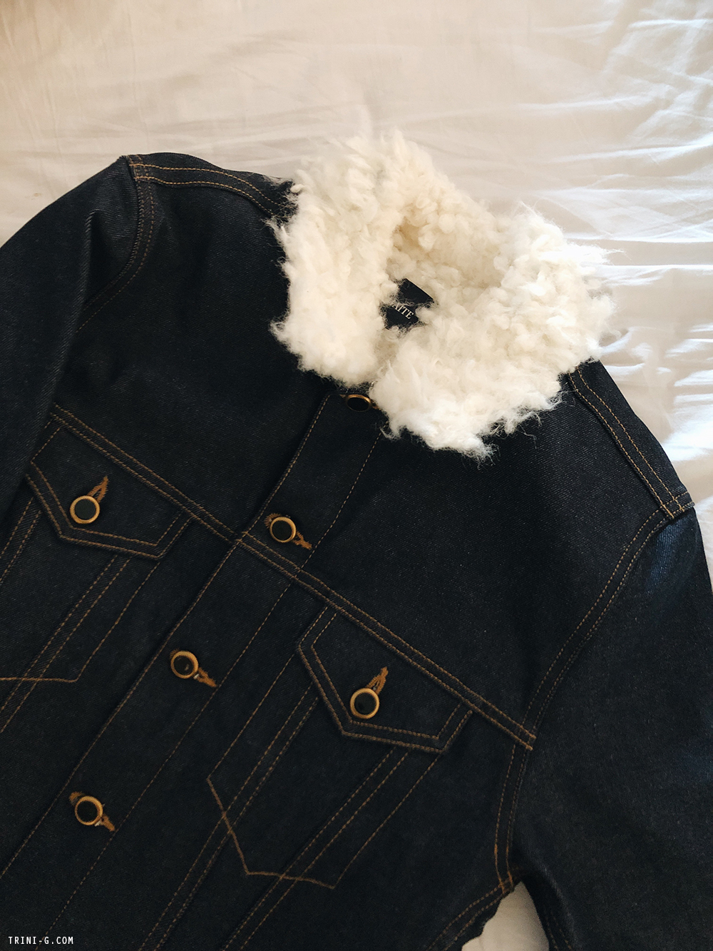 Trini | Khaite Cate denim jacket