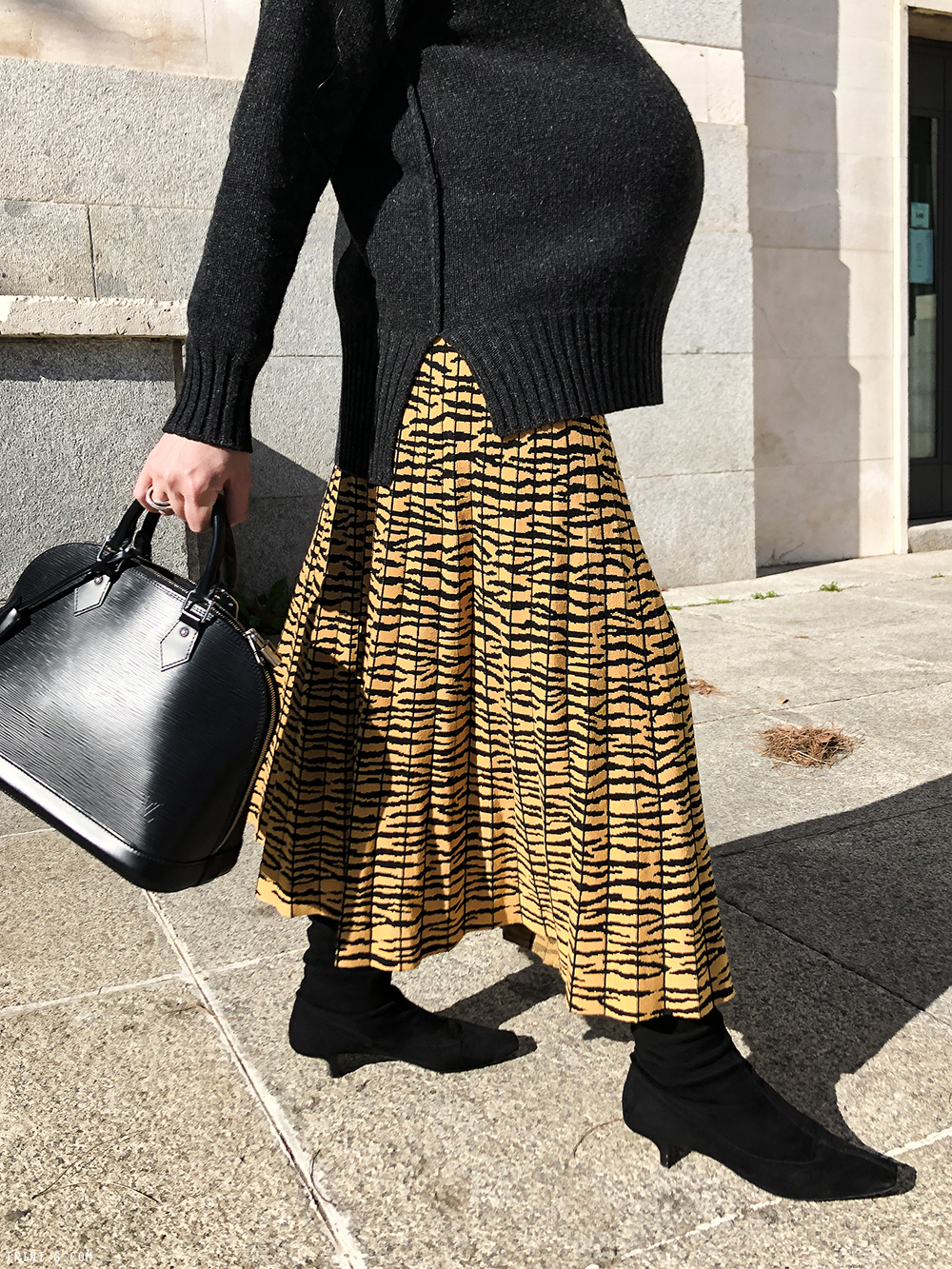 Trini | Proenza Schouler skirt Max Mara sweater