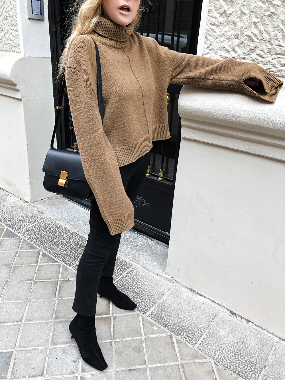Trini |The Row leggings Céline sweater
