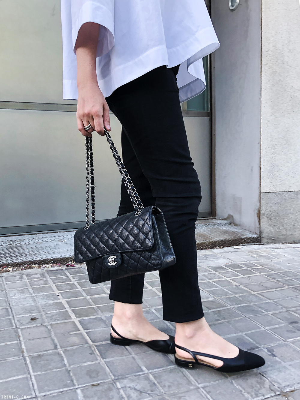 Trini | Balenciaga top The Row leggings