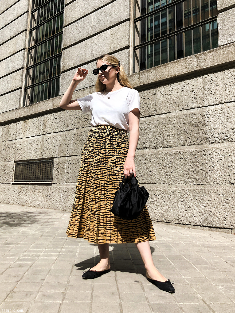 Trini | Proenza Schouler skirt The Row t-shirt