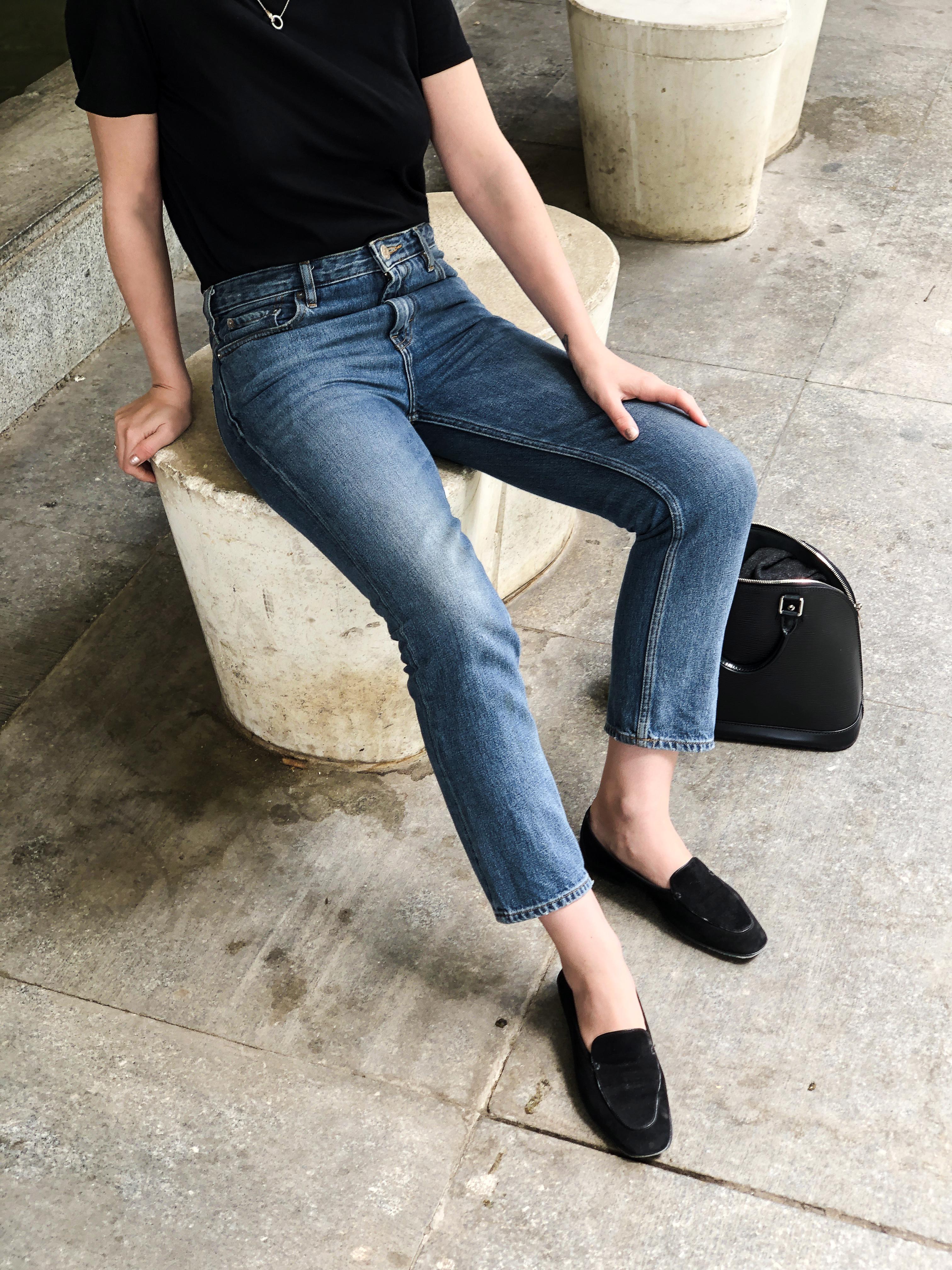 Trini   Acne Studios jeans The Row tshirt