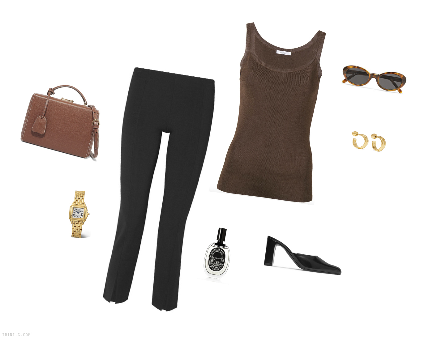 Trini | The Row leggings Max Mara top