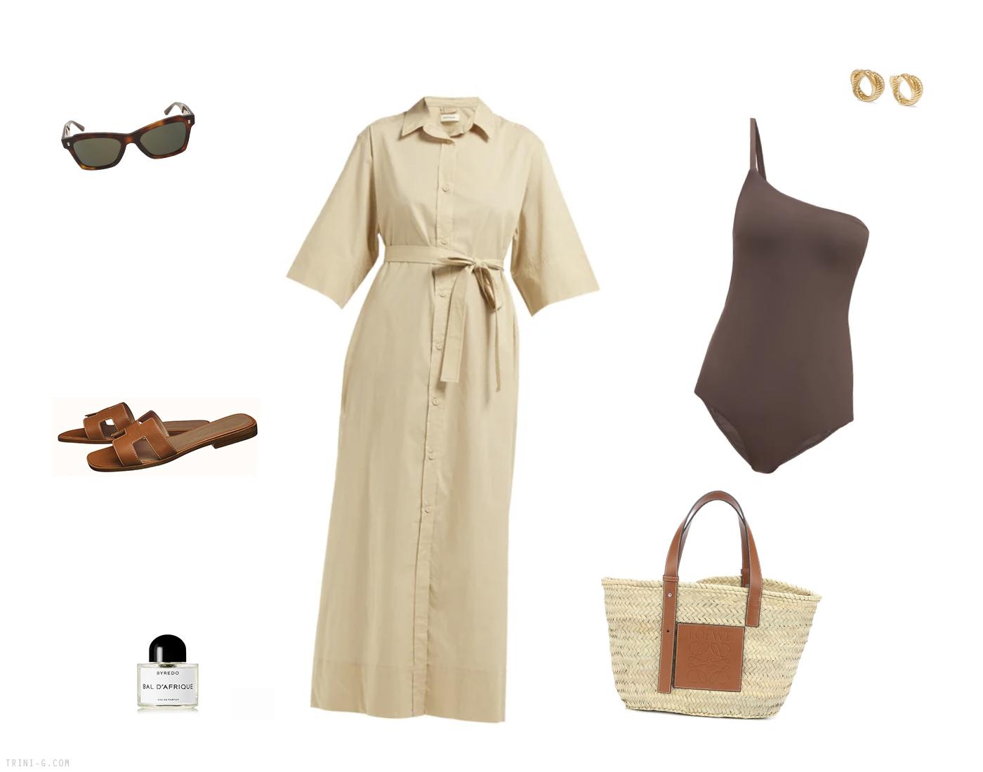 Trini   Matteau dress Loewe bag