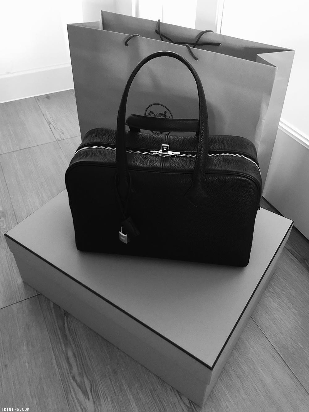 Trini | Hermes Victoria bag