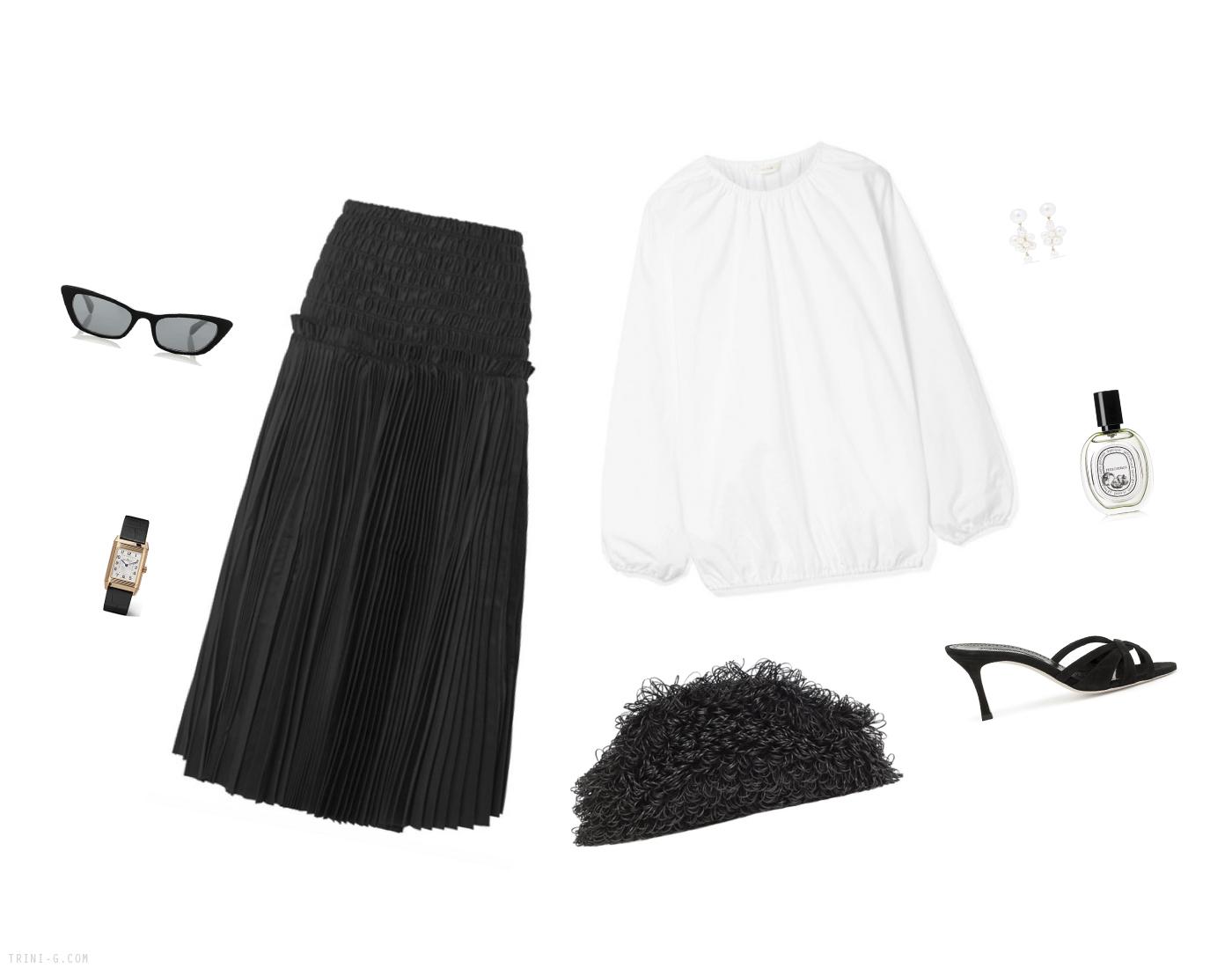Trini | Khaite skirt The Row top