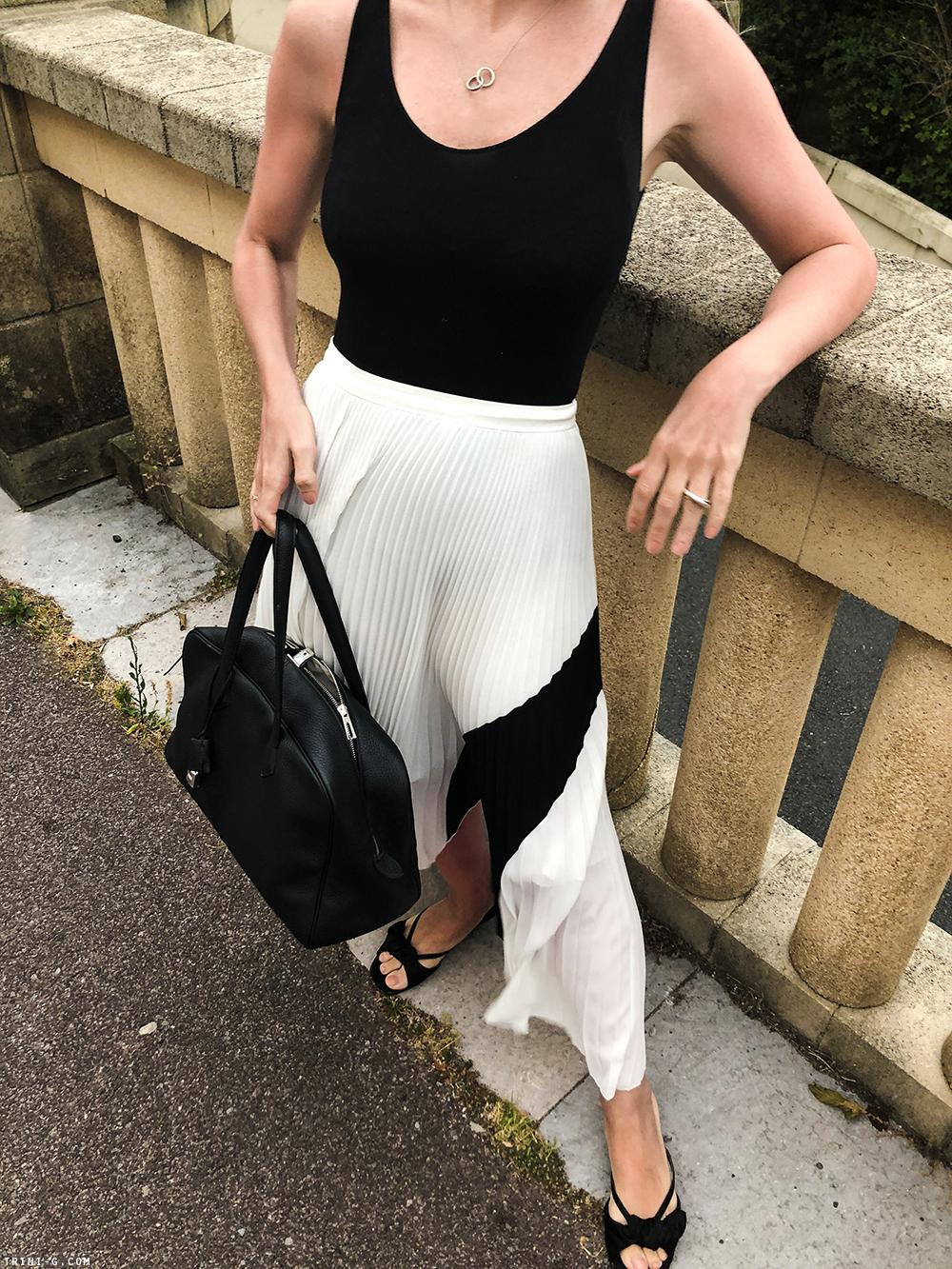 Trini | Proenza Schouler skirt Wolford body