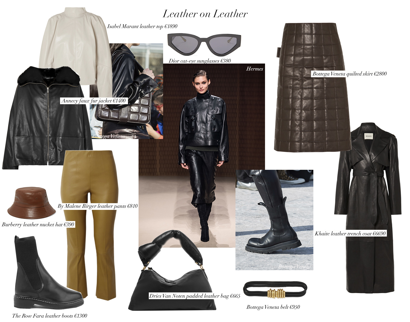 Trini | Leather on leather