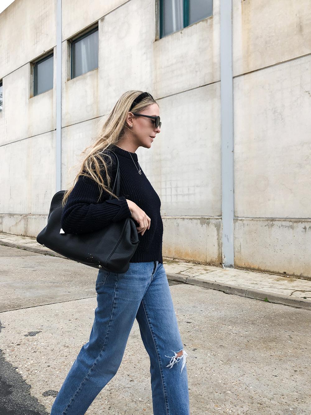 Trini | Levi's jeans Hermes bag