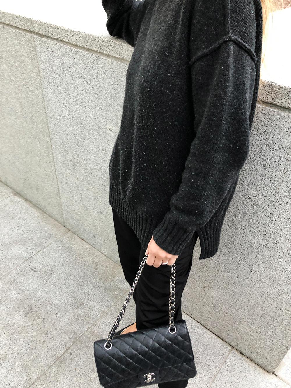 Trini | Chanel bag, Chanel flats