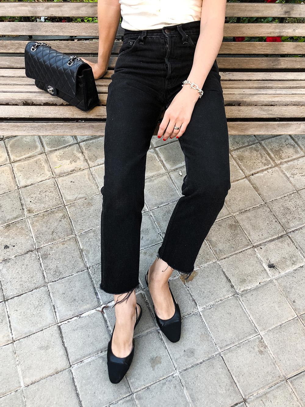 Trini | Isabel Marant top Levi's jeans