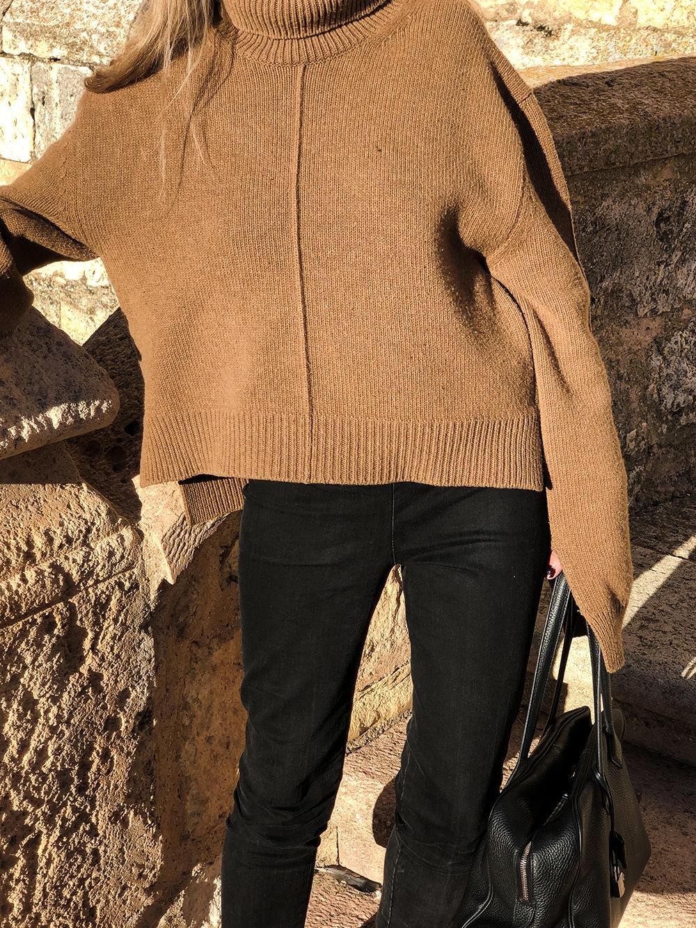 Trini   Céline sweater The Row leggings