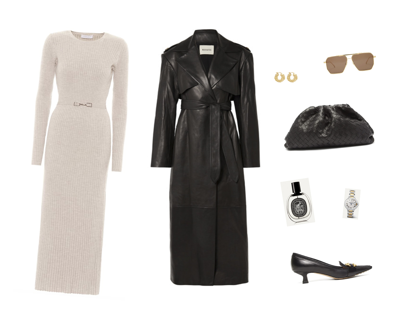Trini | Gabriela Hearst dress Khaite coat