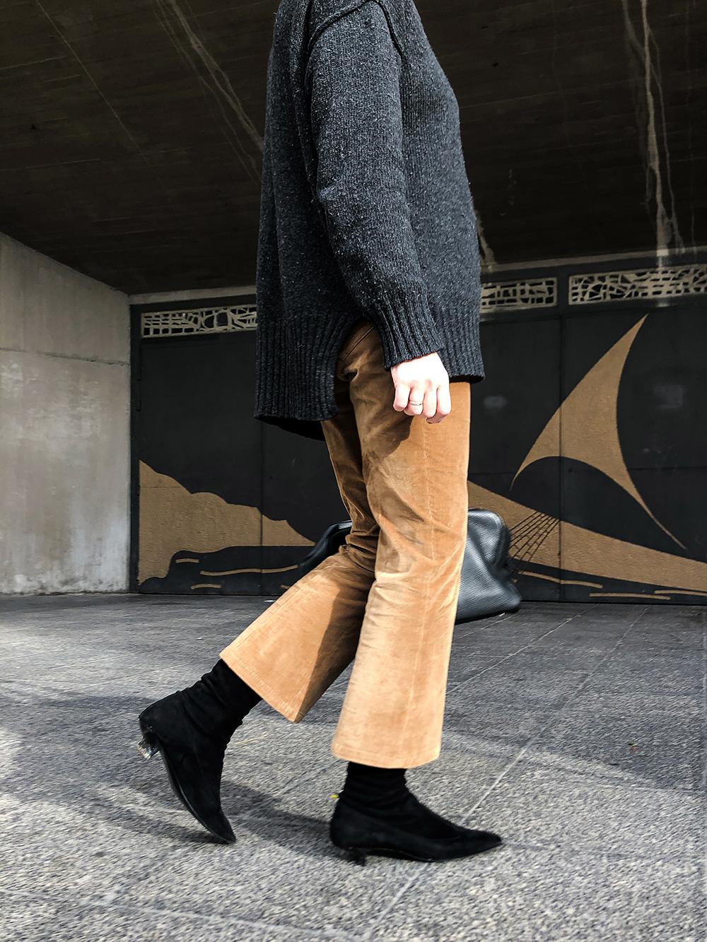 Trini | Prada pants Max Mara sweater