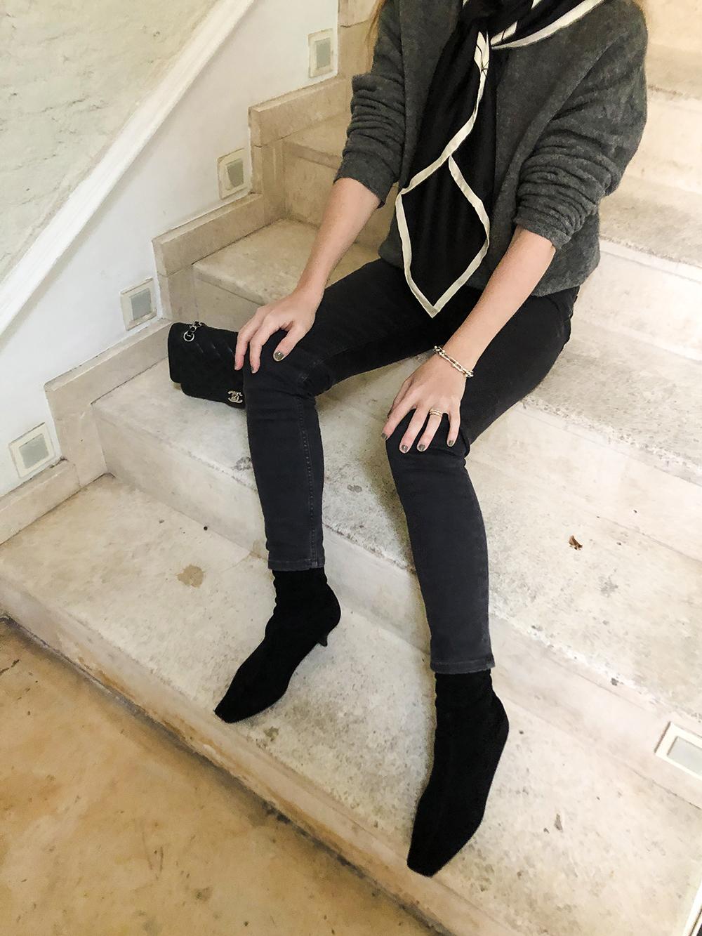 Trini | Balenciaga jeans Balenciaga sweater