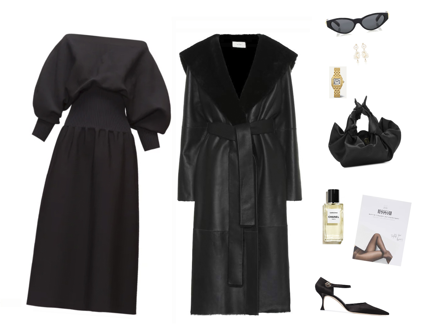 Trini | Bottega Veneta dress The Row coat