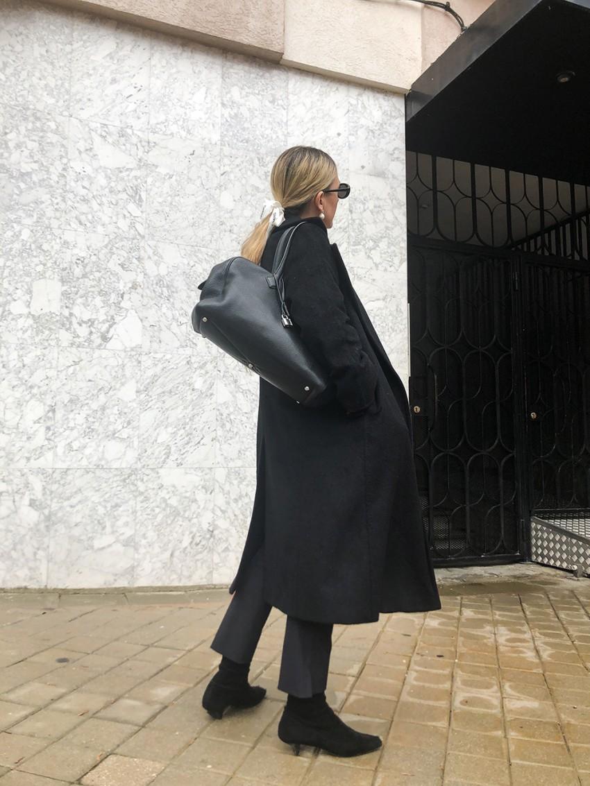 Trini | Prada pants MaxMara coat