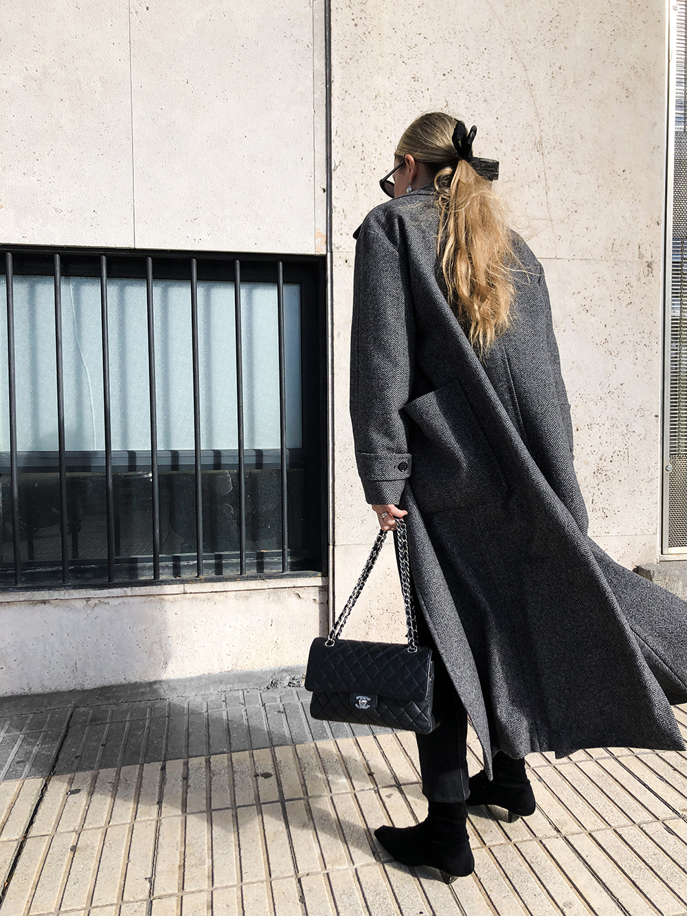 Trini | Max Mara coat Stella McCartney boots