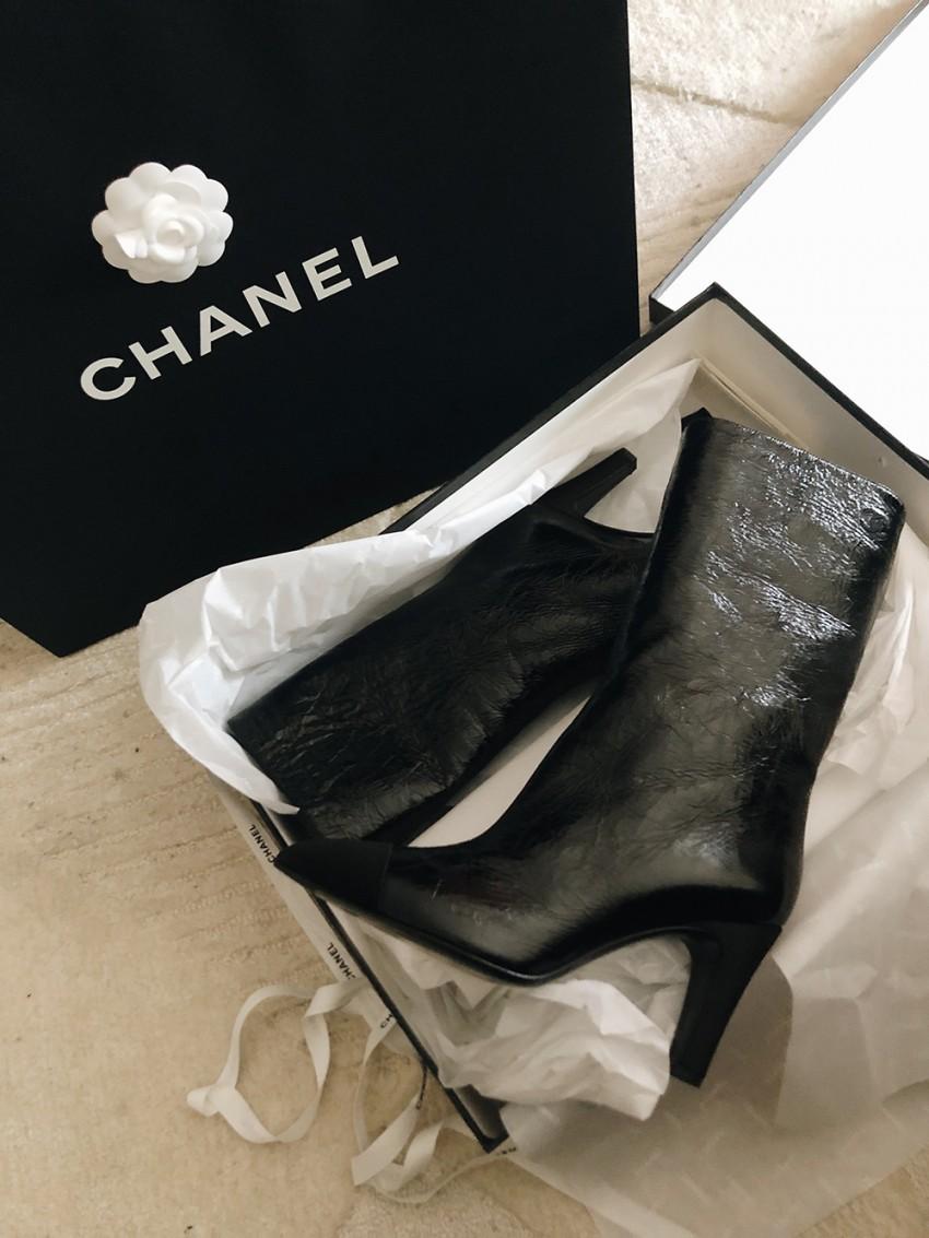 Trini | Chanel boots