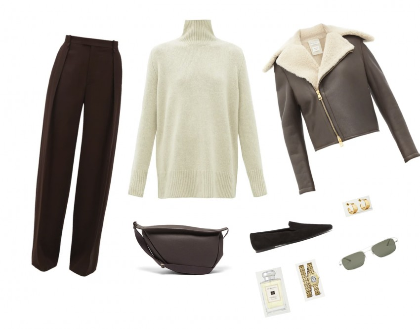 Trini | The Row sweater Bottega Veneta pants