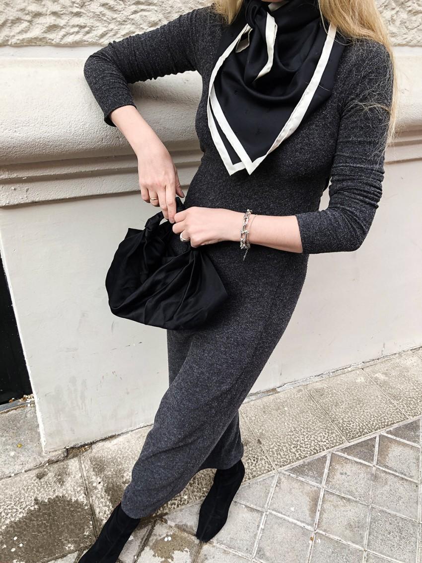Trini | T by Alexander Wang  dress Stella McCartney boots