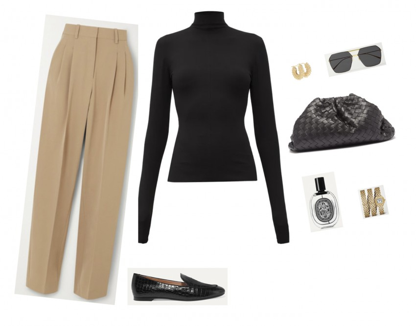 Trini | Bottega Veneta sweater Stella McCartney pants