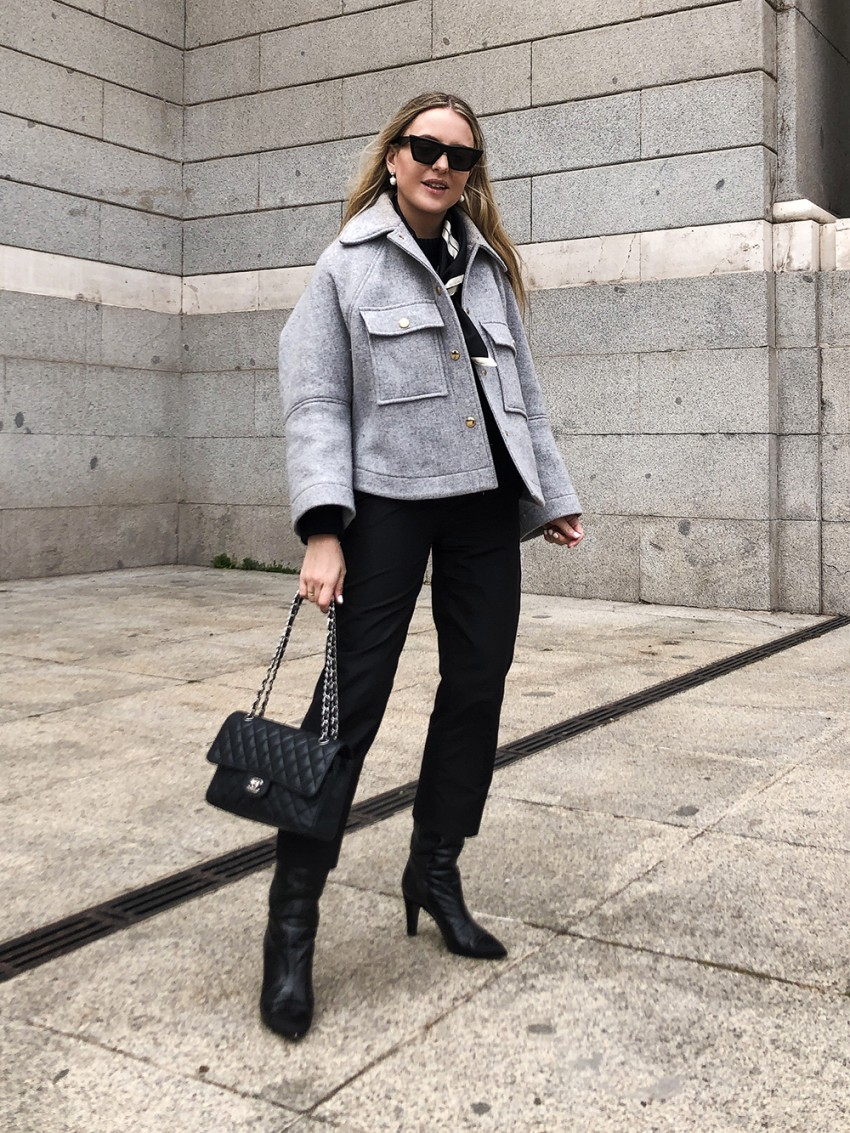 Trini | Prada trousers Chloe jacket