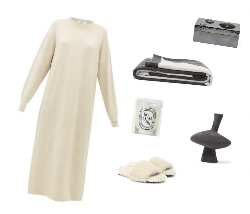 Trini | Extreme Cashmere dress