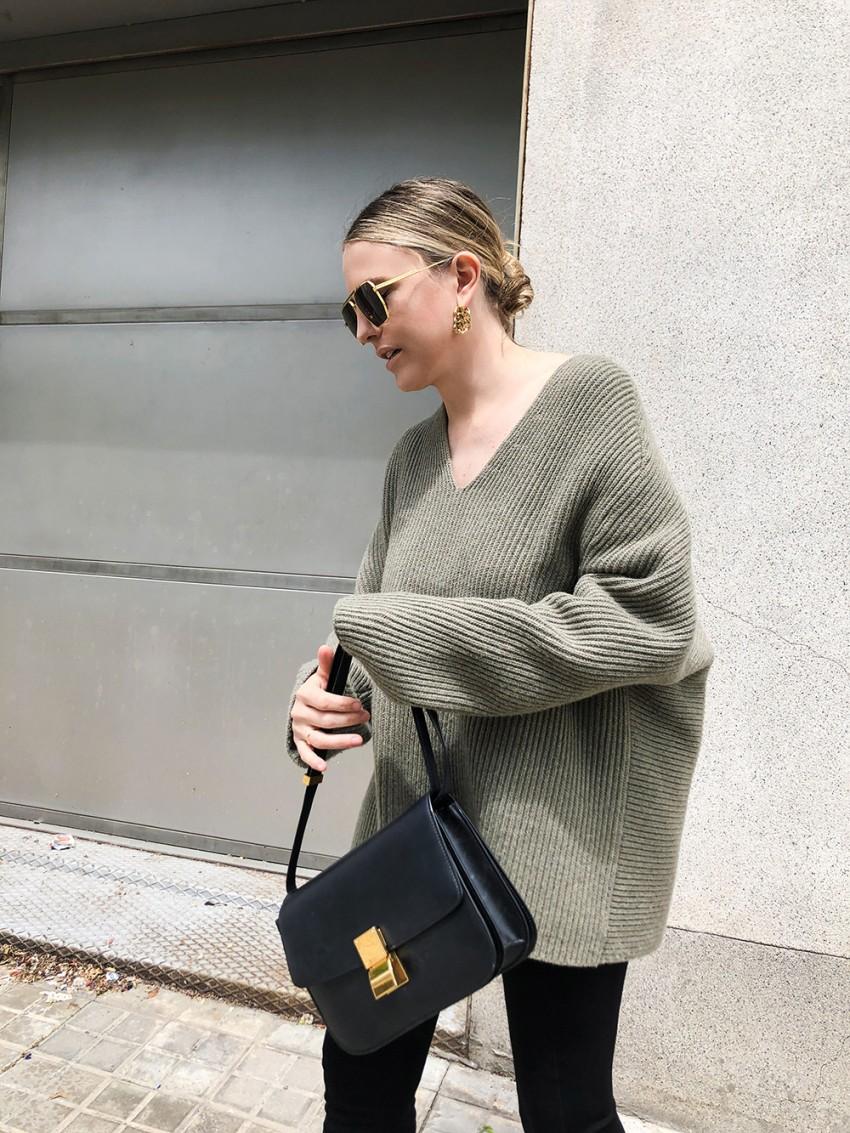 Trini   Bottega Veneta sunglasses The Row sweater