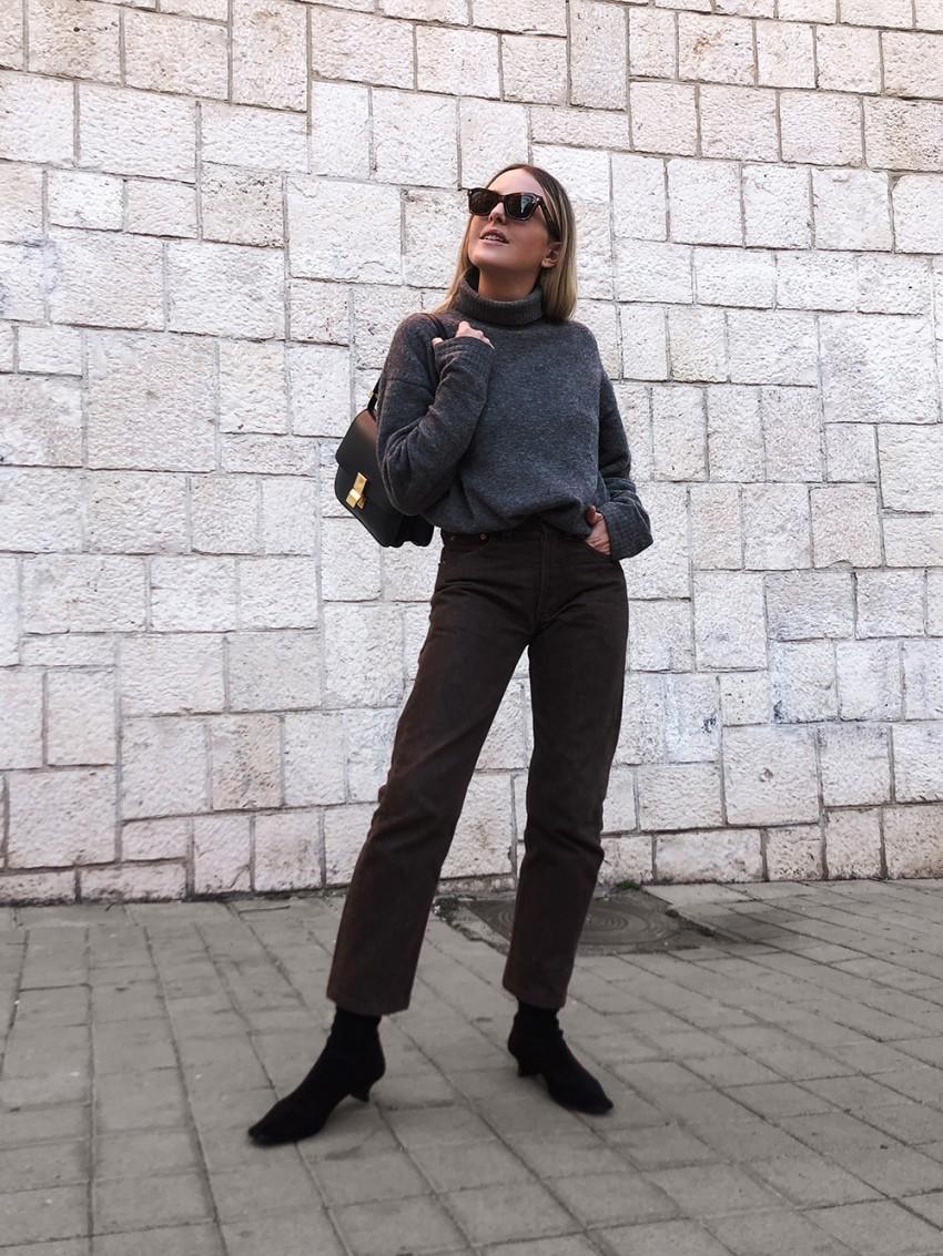 Trini | Balenciaga sweater Levi's jeans