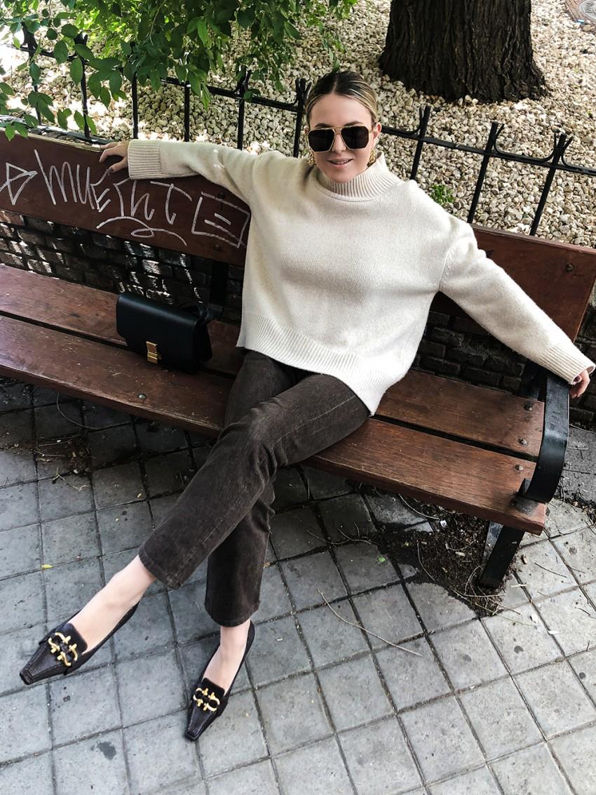 Trini   Brock Collection sweater Levi's jeans