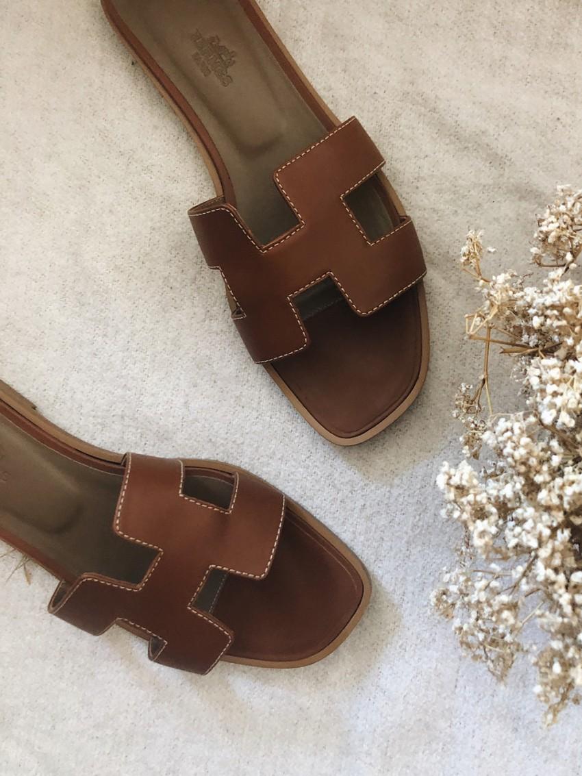 Trini | Hermes Oran sandals