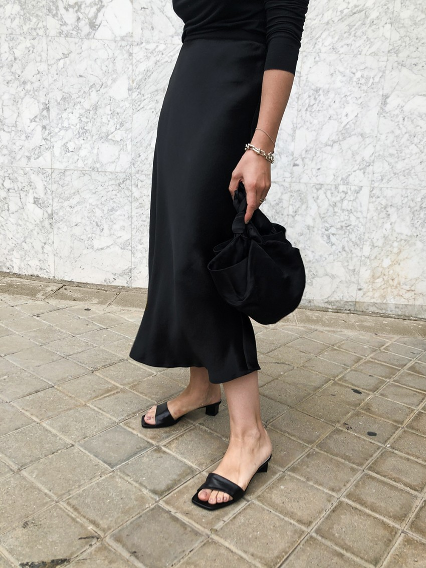 Trini | Max Mara skirt The Row shoes
