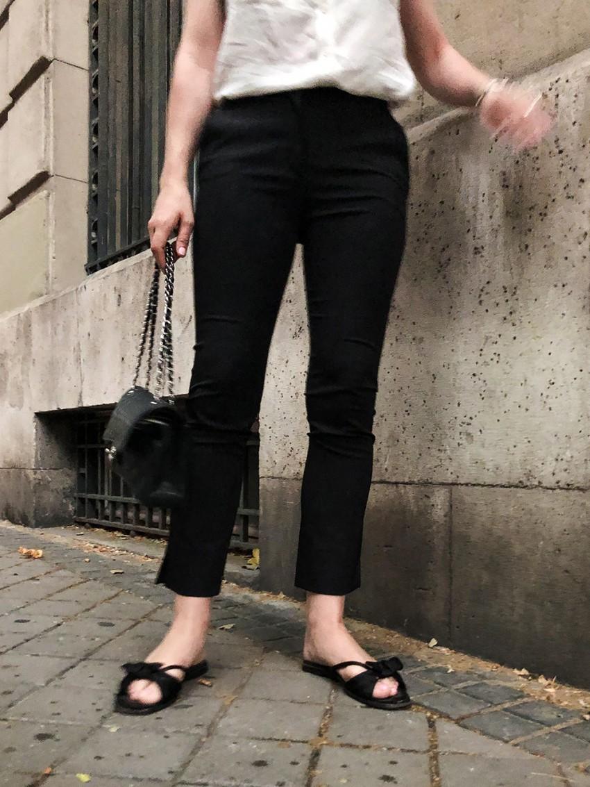 Trini | Prada pants The Row sandals