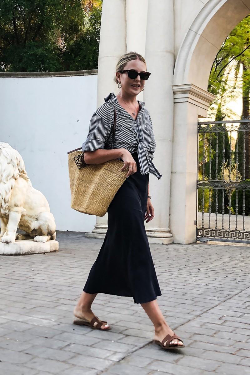 Trini | Balenciaga shirt Organic by John Patrick dress