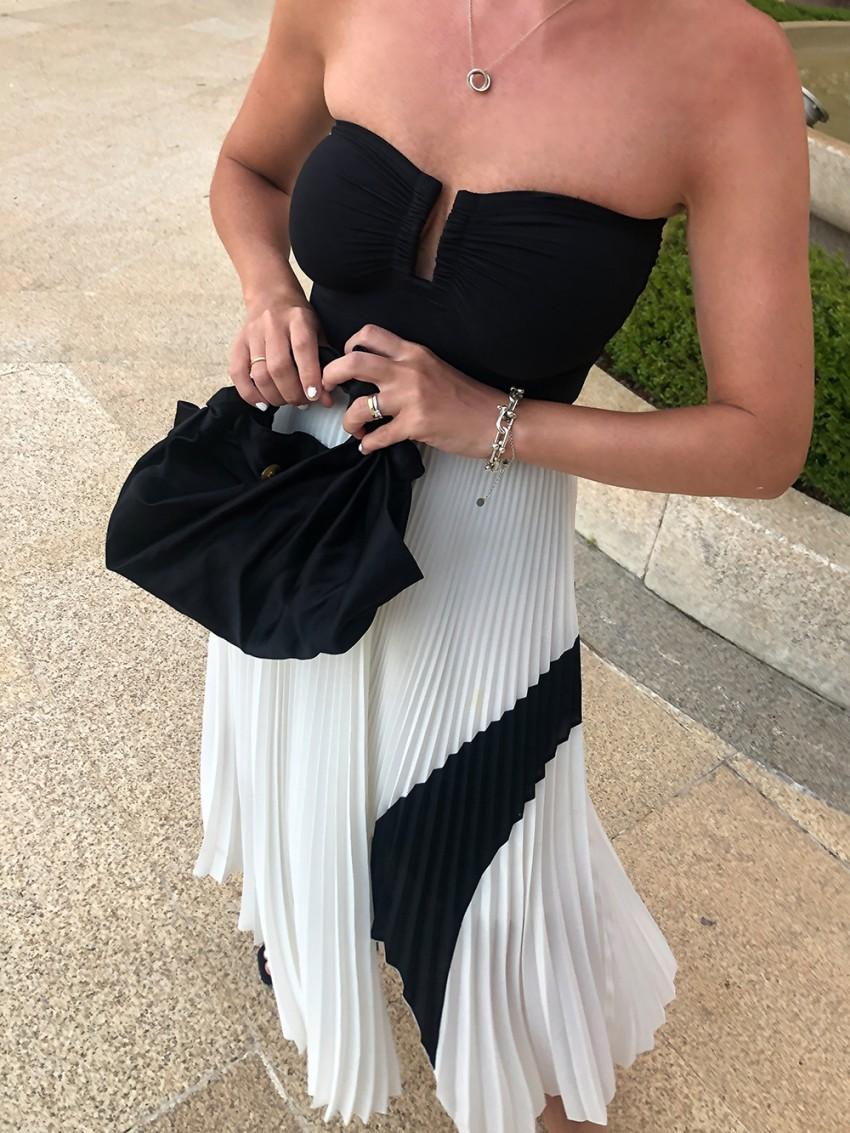 Trini | Eres swimwear Proenza Schouler skirt