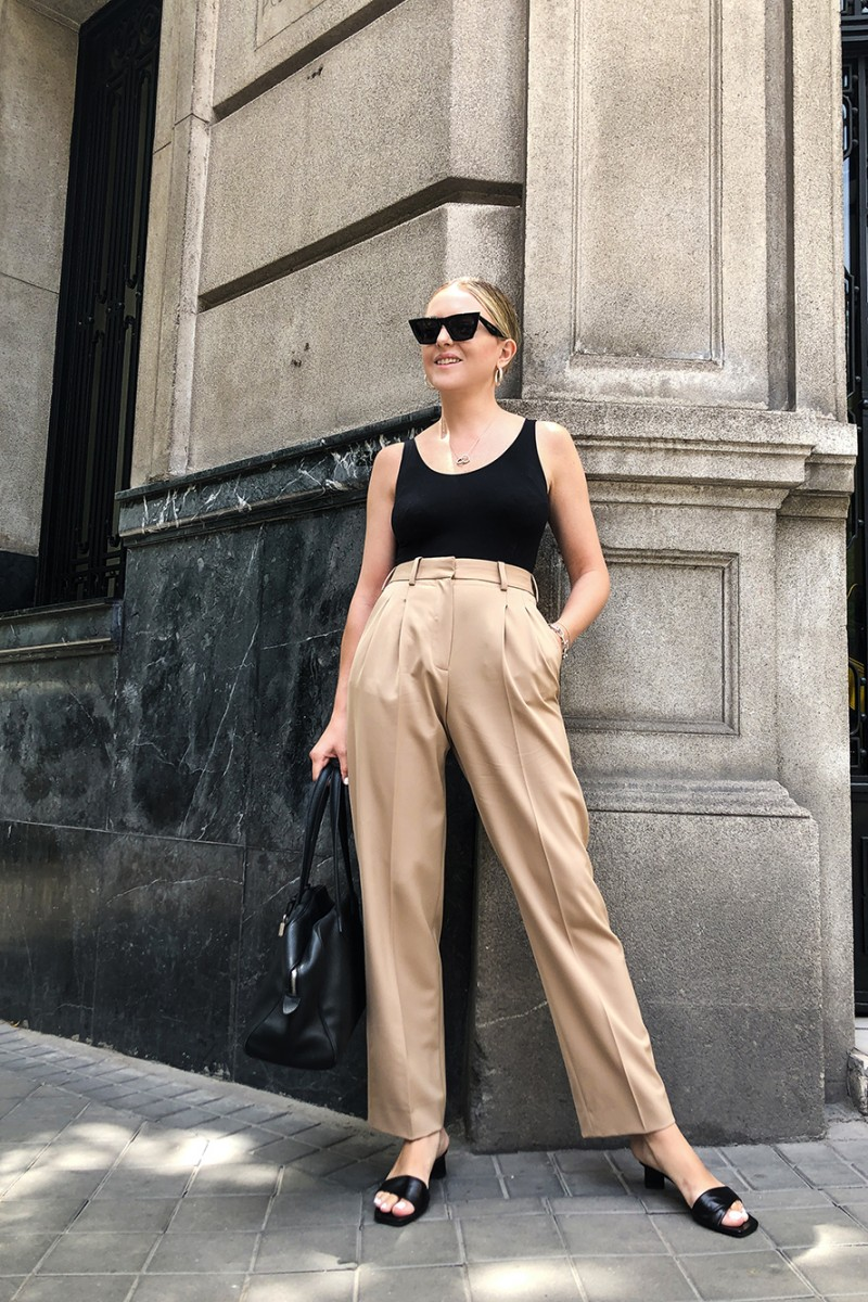 Trini | Stella McCartney trousers Wolford body