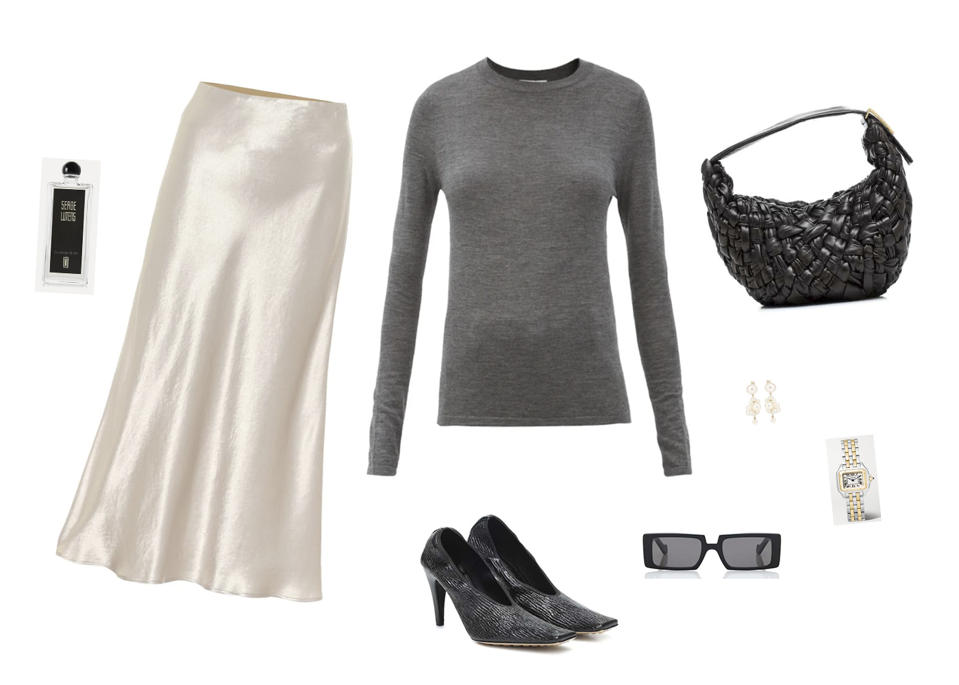 Trini | Max Mara skirt Bottega Veneta shoes