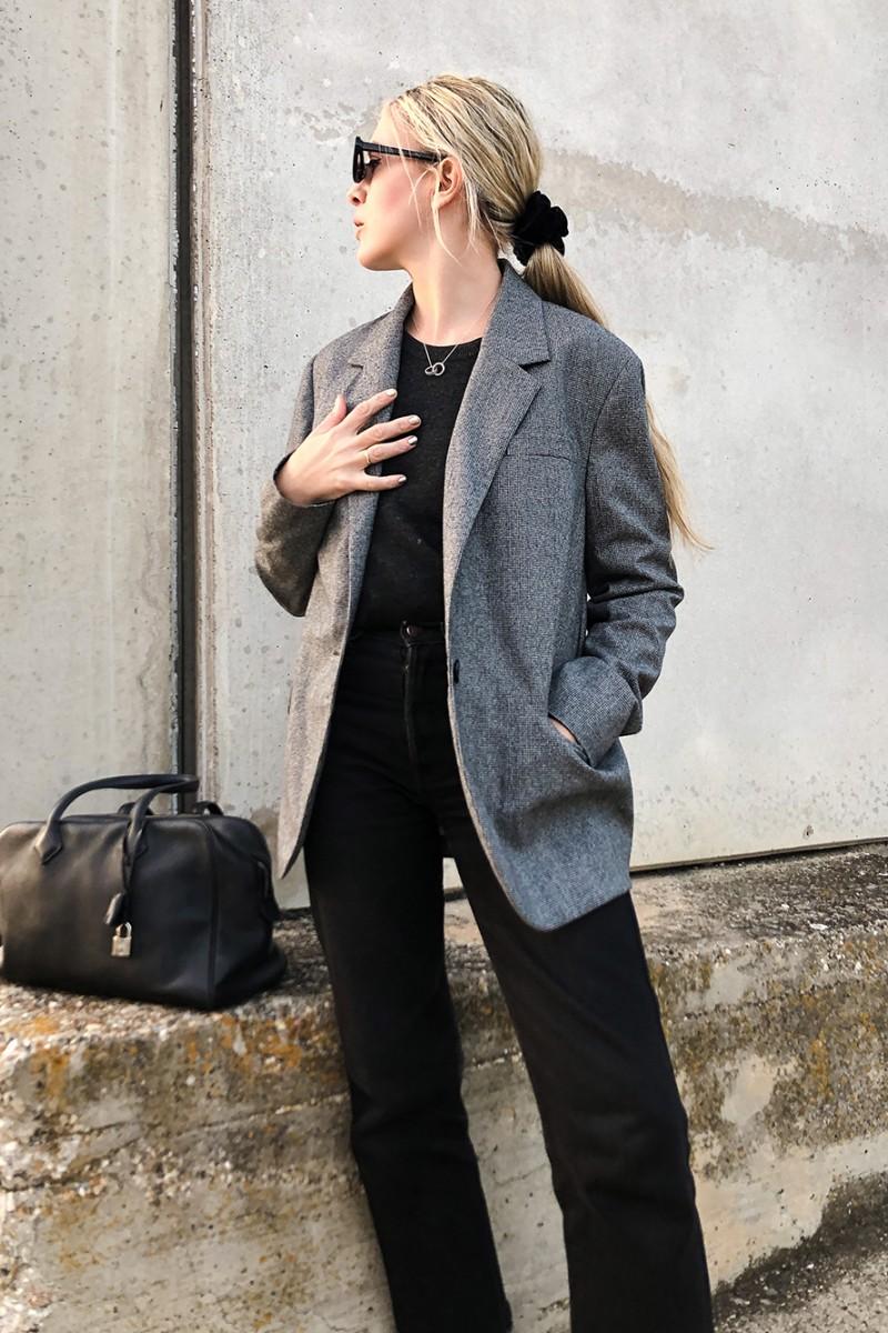Trini | Isabel Marant blazer Levi's jeans