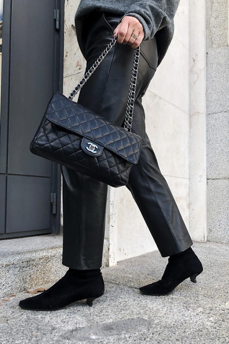 Trini | Balenciaga sweater Max Mara trousers