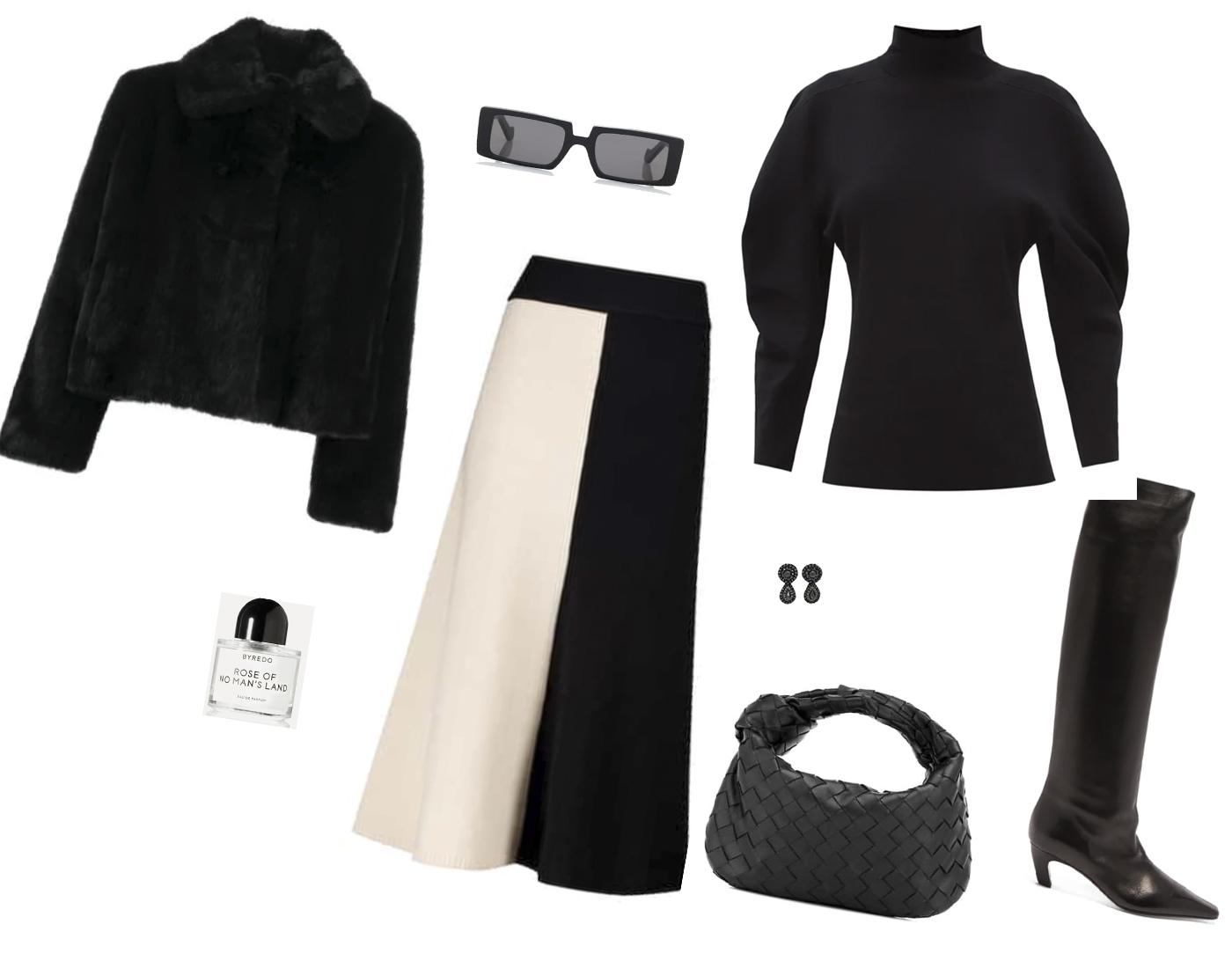Trini | Proenza Schouler sweater Joseph skirt