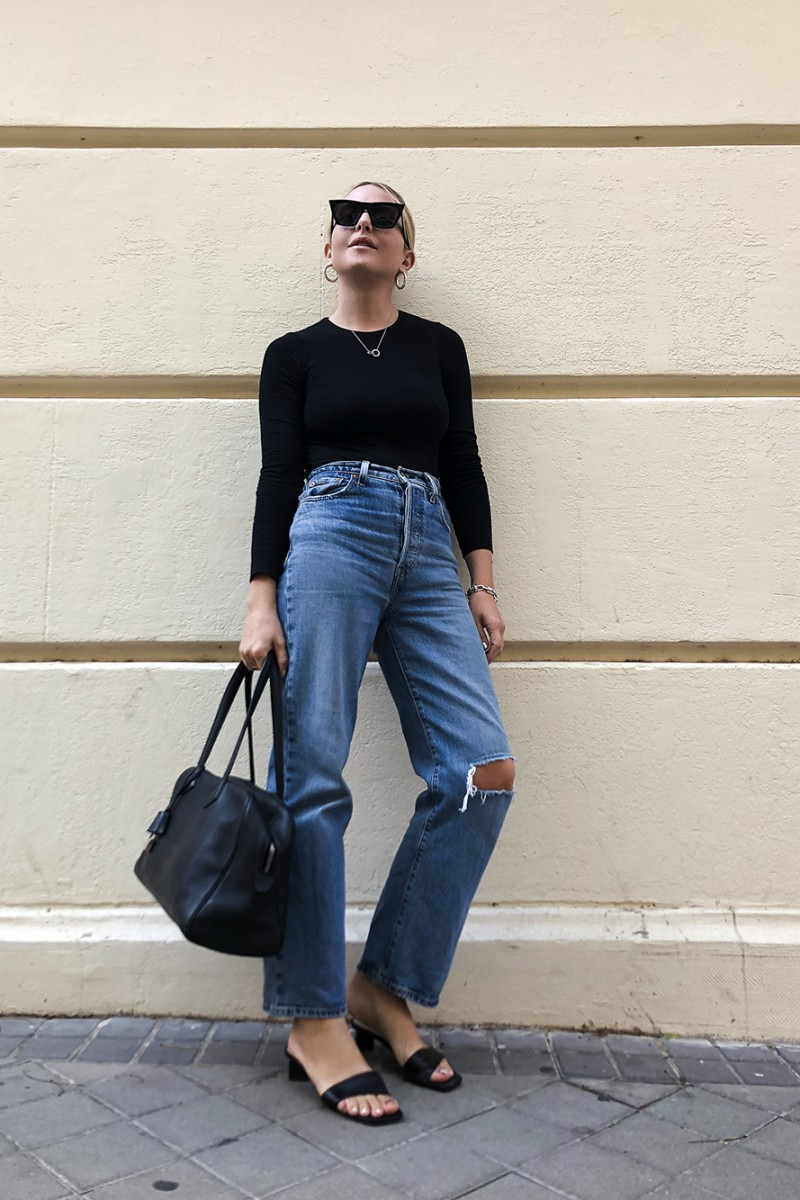 Trini | Levi's jeans Wolford top