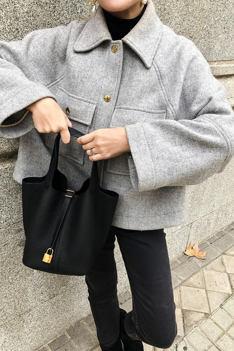 Trini | Chloe jacket Chanel boots