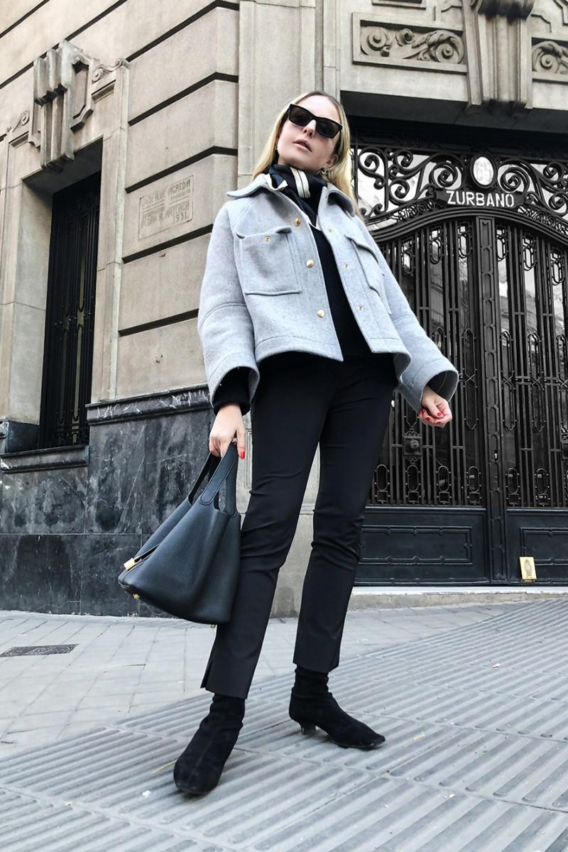 Trini | Chloe jacket Prada pants