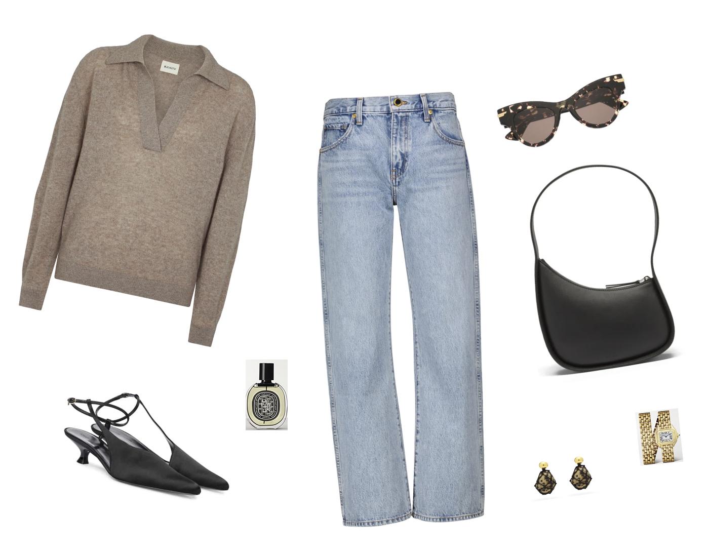 Trini | Khaite jeans Khaite sweater