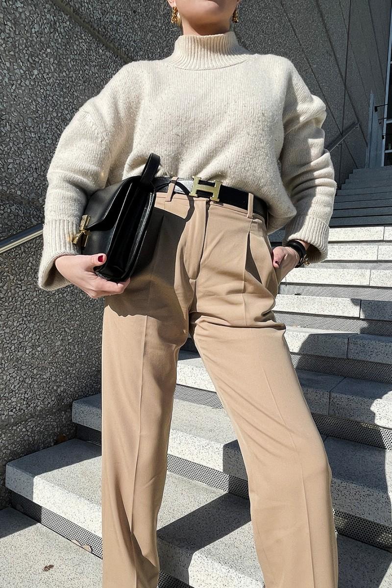 Trini | Stella McCartney pants Dior boots