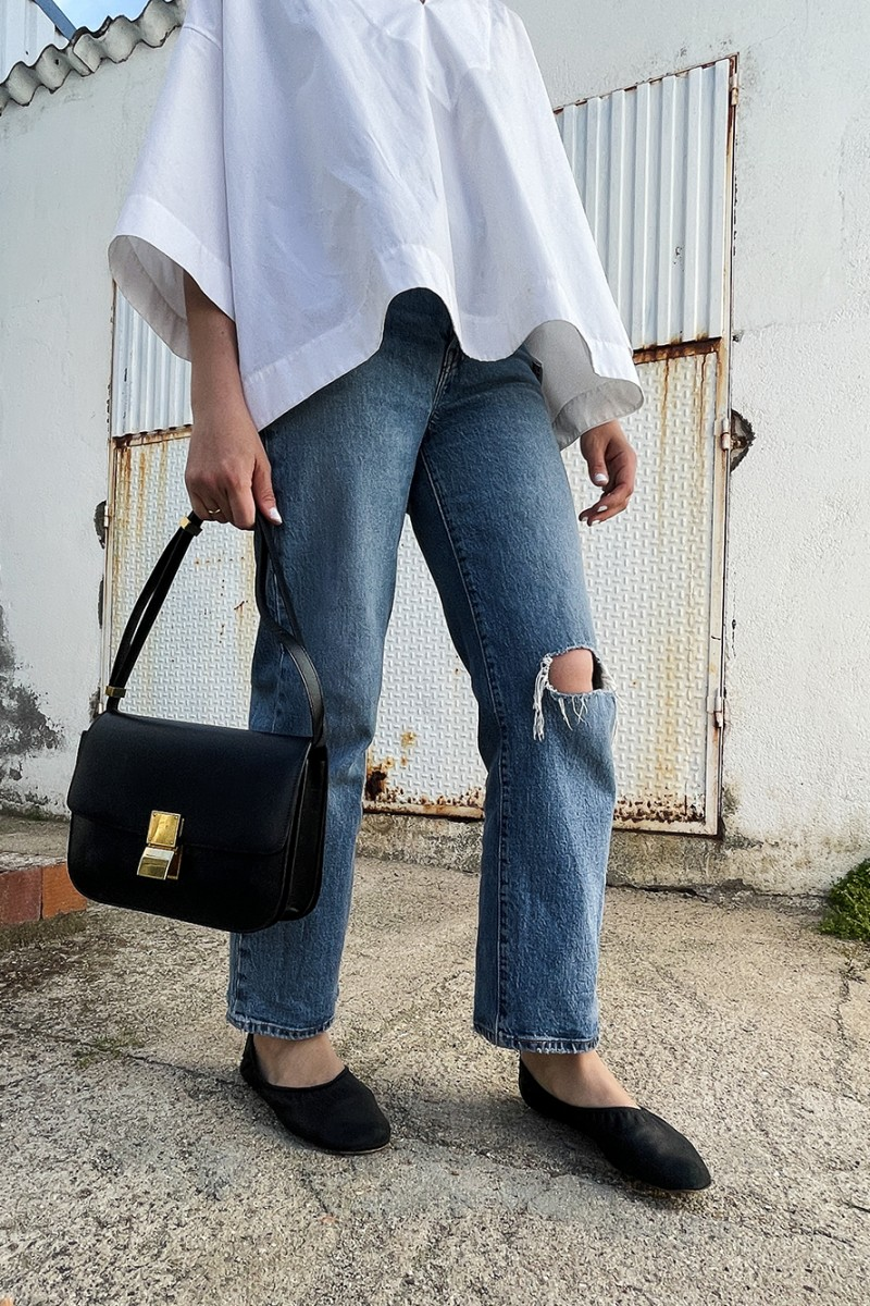 Trini | Levi's jeans Balenciaga top