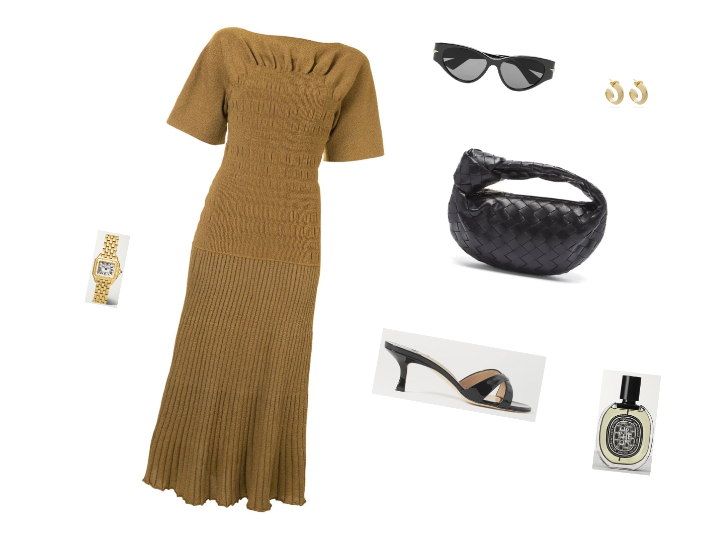 Trini | Proenza Schouler dress Manolo Blahnik sandals